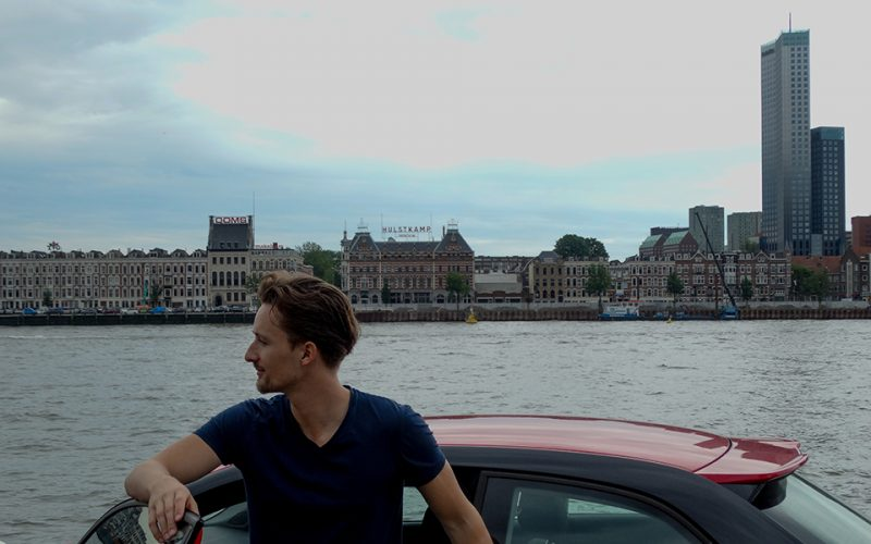 audi, sjauf, rotterdam, skyline
