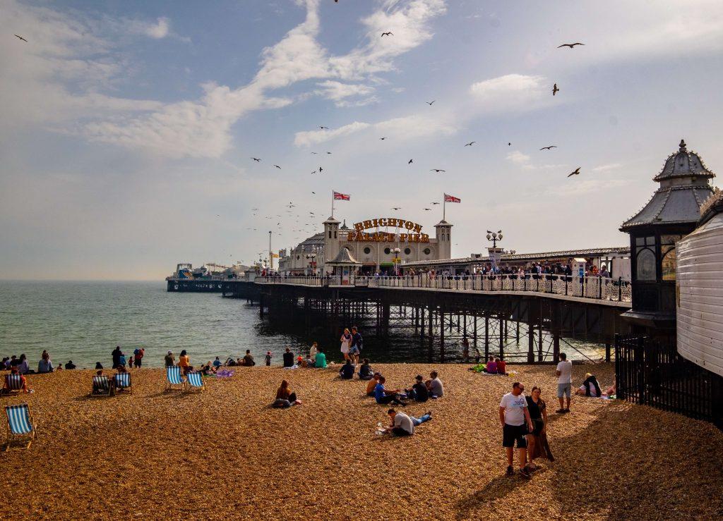 Pier, Brighton, England