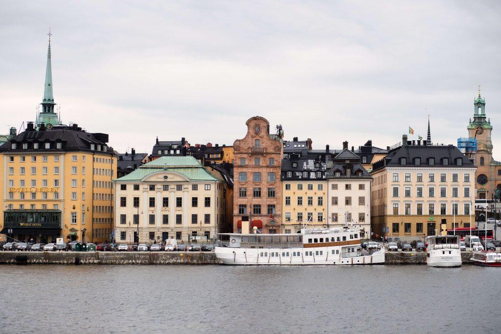 Sweden, Stockholm, houses